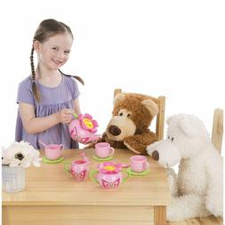 Toy Tea Sets For Girls Pretend Play Kids Pot Cup Party Role