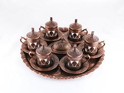 Traditional Design Brass Cast Turkish Armenian Arabic Greek