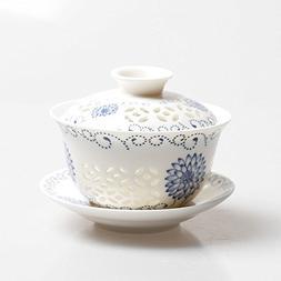 Dictea Traditional Jingdezhen Porcelain Hollowing Out Kungfu