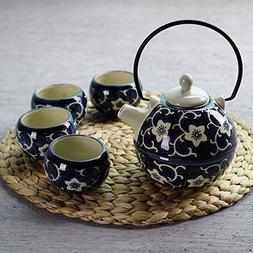 XIDUOBAO Tranditional Japanese Style Teapot Tea Set Porcelai