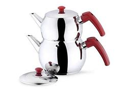 Turkish-Tea-Pot-Traditional-Stainless-Steel-Caydanlik-Double