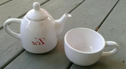 Two - piece Collectible Vintage Avon teapot and cup collecti