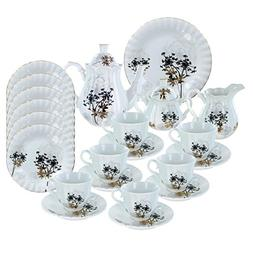 Verbena Deluxe Porcelain Tea Set