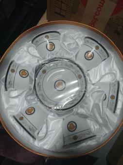 Versace Design Tea Set 12 Pieces