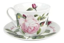 Roy Kirkham Versailles Roses Breakfast Tea Cup and Saucer Se