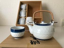 Vintage 7 Piece Japanese Arita Porcelain Tea Set