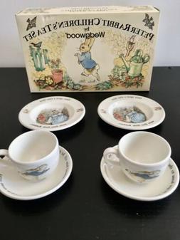 vintage beatrix potter peter rabbit childrens tea