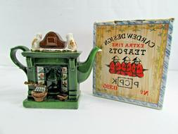 Vintage Cardew Design Extra Fine Teapots GrandFather Clock