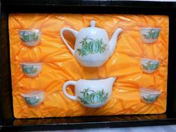 VINTAGE CHINESE PORCELAIN TEA SET - NEW