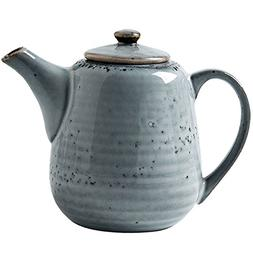 Wabol.T Vintage Styling Ceramic Teapot Coffee Serving Kettle