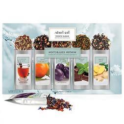 Tea Forte Warming Joy Single Steeps Loose Leaf Tea Sampler G