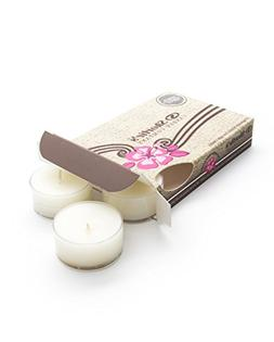 White Chocolate Mint White Tea Light Candles 6 Pack - Highly