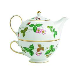 Wedgwood Wild Strawberry Tea for One, Green