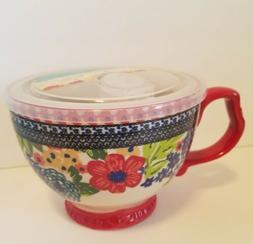 The Pioneer Woman Willow Jumbo Cup with Lid 27ozs NEW For Fa