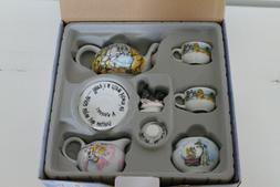 Wizard of Oz Cardew Mini Tea Set - NIB with Matching Coffee