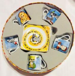 Cardew Design Wizard of Oz Tea Party Cup & Saucer , 3 oz, Mu